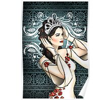 Snow White Ice Queen Poster