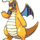 Dragonite  by linwatchorn