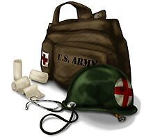 Army Medic by thedustyphoenix