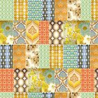 Vintage Patch Quilt by Tarnya  Burke