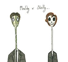 Mouldy & Skully by devoidofnothing