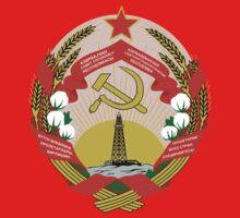 Socialist Azerbaijan Emblem Kids Clothes