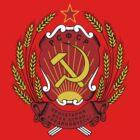 Soviet Russia Emblem by charlieshim