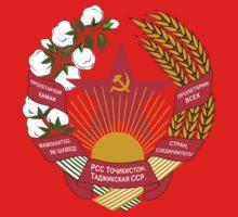 Socialist Tajikistan Emblem Kids Clothes