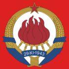Socialist Yugoslavia Emblem by charlieshim