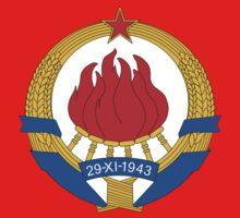 Socialist Yugoslavia Emblem Kids Clothes