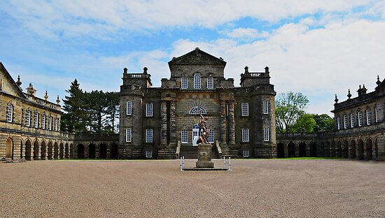 Seaton Delaval Hall by Carol Bleasdale
