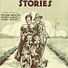 SUNDAY SCHOOL STORIES (vintage illustration) by ART INSPIRED BY MUSIC