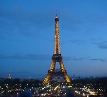 Eiffel Tower by crazu4