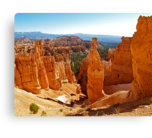 Thor's Hammer at Sunset Point Canvas Print