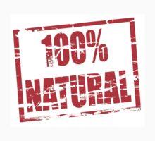 100% natural by stuwdamdorp