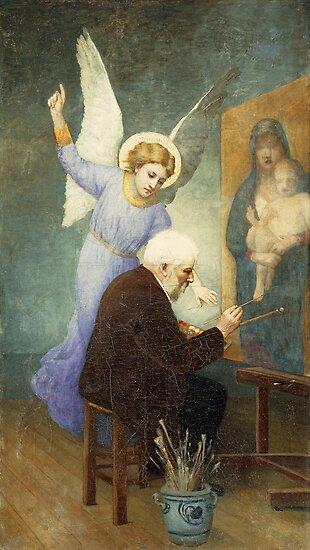 In Memory of Bouguereau by Bridgeman Art Library