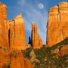 Cathedral Rock Sedona Arizona by Dick Paige