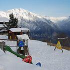 La Tzoumaz: Swings and slides by justbmac