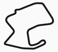 Laguna Seca Track Map Sticker by ApexFibers