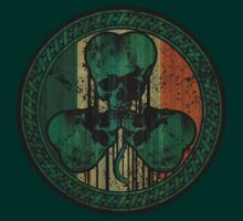 Skull Shamrock by MWMcCullough