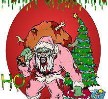 Merry Zombie Christmas by Skree
