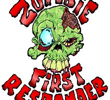 Zombie First Responder Volunteer by Skree