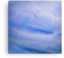 With Love From Lyme xx Canvas Print