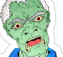 Monday Zombie Sticker