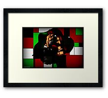 Another shot? Framed Print