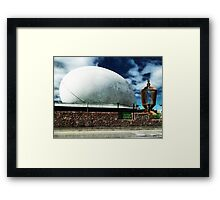 The Town Ball is Now Open Framed Print