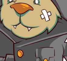 Captain Cat Sticker