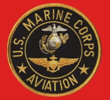 U.S. Marine Corps Aviation T-shirt pocket by Walter Colvin