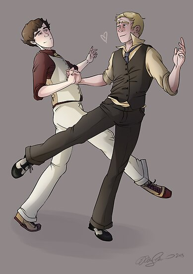 Turns out dance lessons were not such a bad idea after all by KrisKenshin