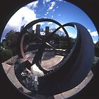 Spherical Sundial, Royal Botanical Gardens, Sydney, Australia 2004 by muz2142