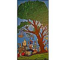 Picnic under Tree Photographic Print