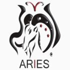 Aries the Ram. ( for lighter colors ) by spirallution