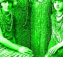 The Glorious Pickle Ladies of Venus Sticker
