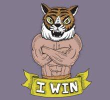 I win - says Tiger Man with wonderfully burly forearms by DiabolickalPLAN