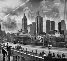 Urban Existance5 by Vicki Moritz