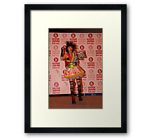 Yanakiku at Hyper Japan Earls Court Framed Print
