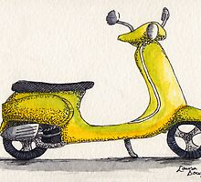 Vespa by Laura Douglass