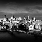 London Skyline by Isenwolf