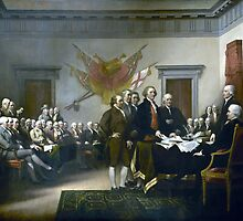 Signing The Declaration Of Independance by warishellstore
