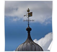 Weather Vane on Tower of London Poster