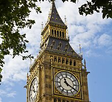 Big Ben by Paul Collin