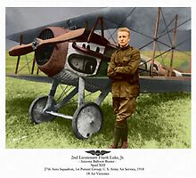 WW I Ace Frank Luke Jr. by A. Hermann