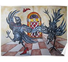 Fowl Play Series: Juke Joint Crows Poster