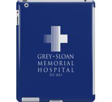 Grey Sloan Memorial Hospital Plaque iPad Case/Skin