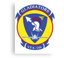 VFA106 Gladiators Canvas Print