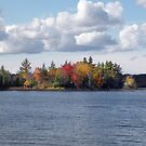 Autumn Waters in Muskoka by Gracey