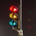 Bicycle traffic light by mattijs