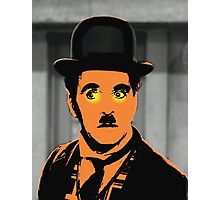 Charles Chaplin Charlot in The Great Dictator Photographic Print