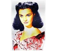 Vivien Leigh in Gone with the Wind Poster