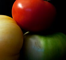 Trio of Tomatoes by Samantha Wong
